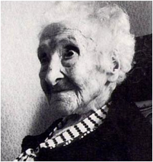 Jean Calment: 120 years old